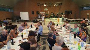 Fundacio els Joncs sopar AAVV Sarria Dalt