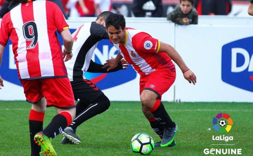 Participació En L'equip De Futbol GIRONA FC Lliga Genuine