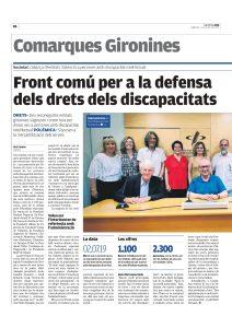 Front comu per defensar els drets dels gironins amb discapacitat intelectual-elpunt-pag26